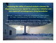 Assessing the uOlity of several analysis schemes for ... - LAPS - NOAA