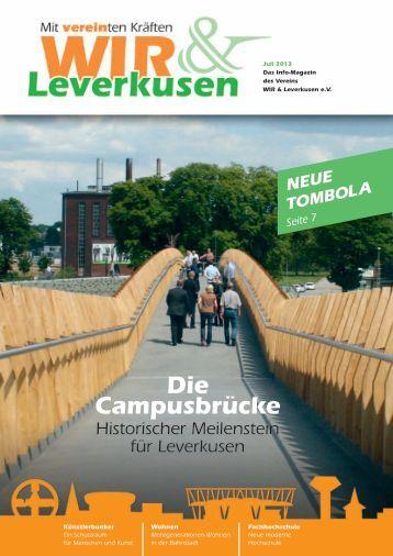 Magazin - Juli 2013 - WIR und Leverkusen