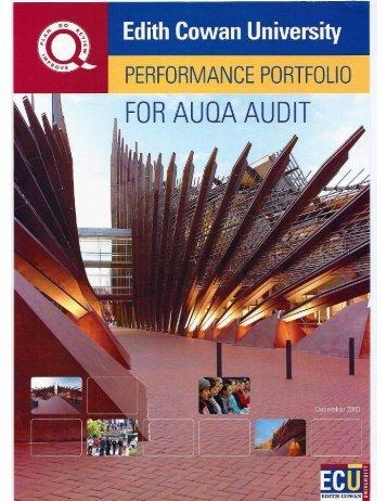 Performance Portfolio 2004 - ECU   Sign In : Portals - Edith Cowan ...