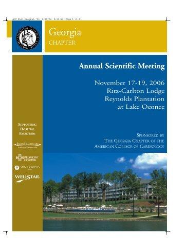 ACC Fall program '06 - Georgia Chapter