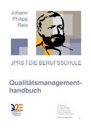 Qualitätsmanagementhandbuch