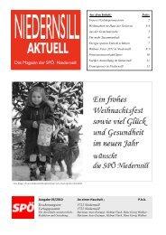 Aus dem Inhalt: Seite: Ausgabe 03/2010 An einen ... - SPÖ-Niedernsill