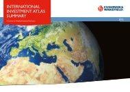 INTERNATIONAL INVESTMENT ATLAS SUMMARY