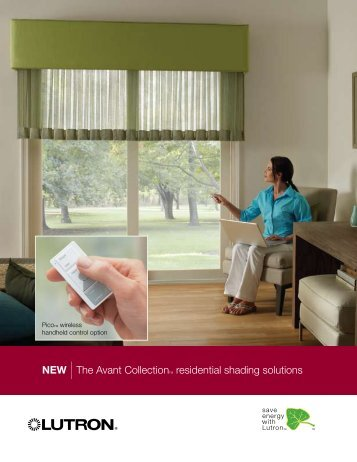 NEW |The Avant CollectionTM residential shading solutions