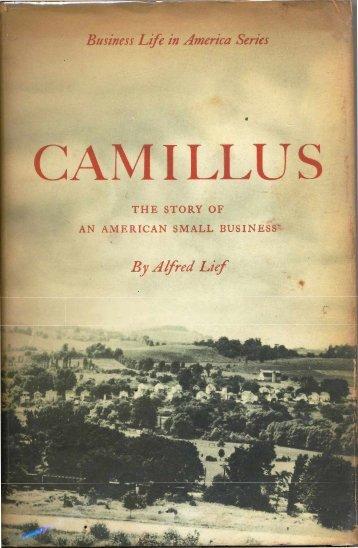 Camillus-History - Collectors of Camillus