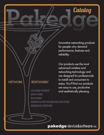 Download Pakedge Catalog