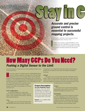 How Many GCPs Do You Need? - Leica Geosystems