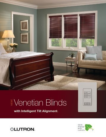Lutron Venetian blinds - Hill Residential Systems