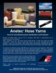 Download Hose Yarns Flyer (pdf) - American & Efird, Inc