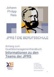 Informationen zu den Teams der JPRS