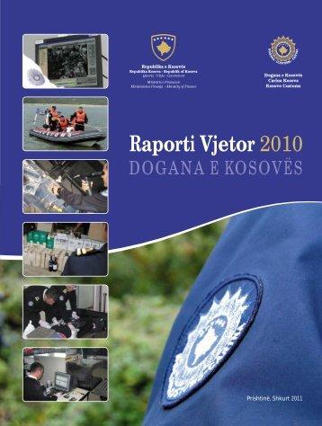 Raporti 2010 shqip_final - Dogana e Kosovës