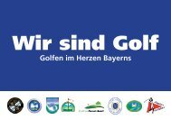 Golfen im Herzen Bayerns - Initiative Regionalmanagement Region ...