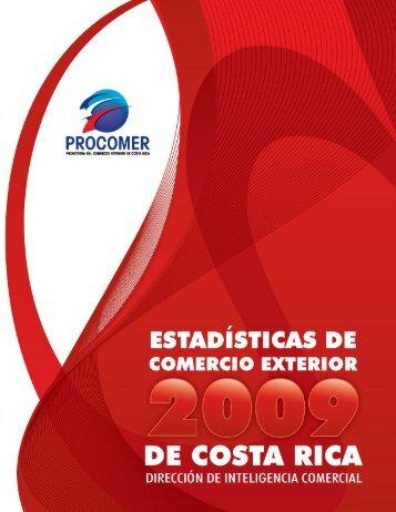 Anuario Estadisticas2009 - Procomer
