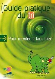 Pour recycler, il faut trier - Lannion-Trégor Agglomération