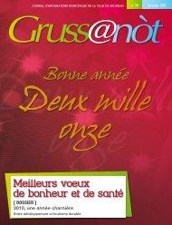 Lo grussanot janvier 2011 PDF - Gruissan