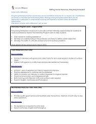 Staffing, Human Resources, Hong Kong Disneyland - The University ...