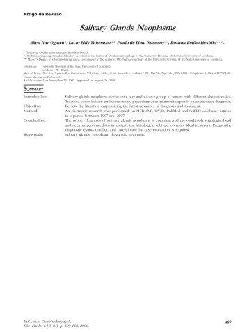 Salivary Glands Neoplasms
