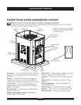 know your home generator system - NoOutage.com, LLC - Page 6