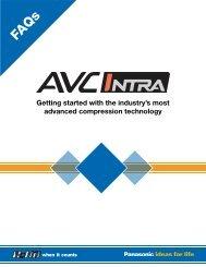 AVC-Intra FAQ - Panasonic FTP
