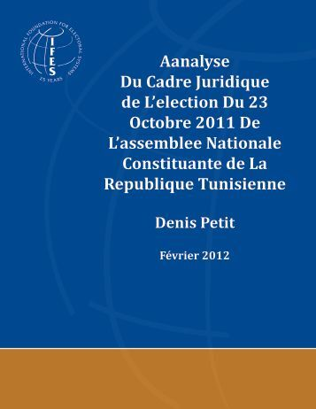 Table of contents - IFES