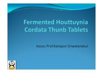 f k l Assoc.Prof.Kampon Sriwatanakul