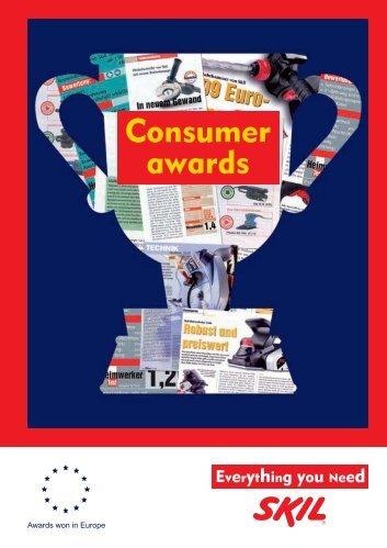 Consumer awards - Skil