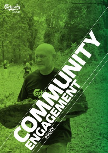 Community Engagement Policy - Carlsberg Group