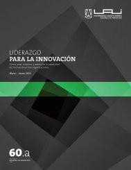 LIDERAZGO PARA LA INNOVACIÓN - Universidad Adolfo Ibañez