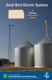 Small Wind Electric Systems: A Kansas Consumer's Guide