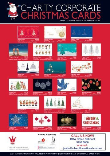Xmas card Pricelist - Office National