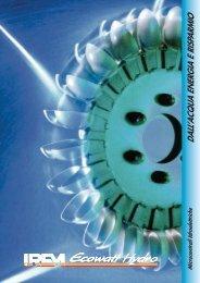 Brochure tecnica informativa Microcentrali - Infobuildenergia.it