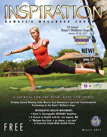 January 29-30, 2011 - Inspiration Journal Magazine