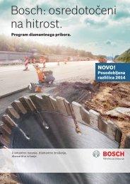 Bosch: osredotočeni na hitrost.