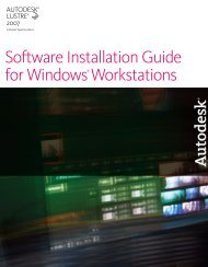 Software Installation Guide for Windows Workstations - Autodesk