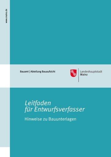 Leitfaden für Entwurfsverfasser - Ingenieurkammer Rheinland-Pfalz
