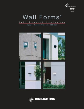 Wall Forms® - Kim Lighting