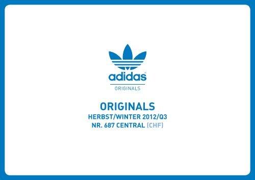 sprzedaż hurtowa szerokie odmiany szukać Segmentierung der adidas Originals Kollektion