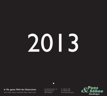 Gesamte Ansicht des Kalenders! - Rossittis