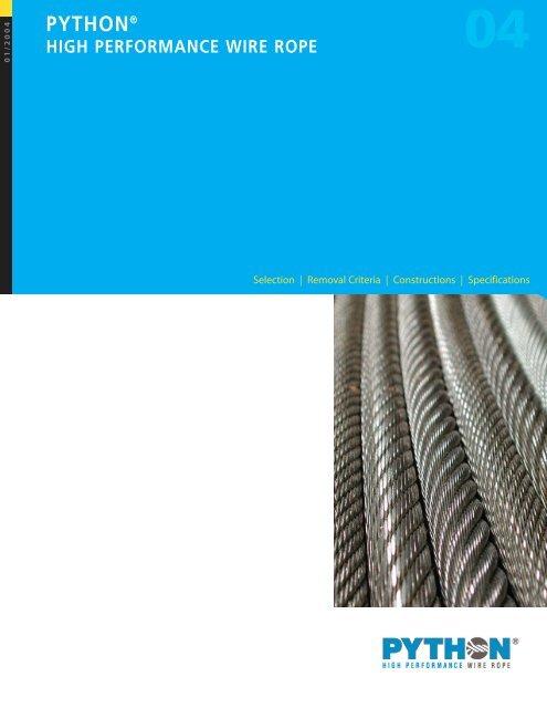 Python Wire Rope - Wesco Industries Ltd