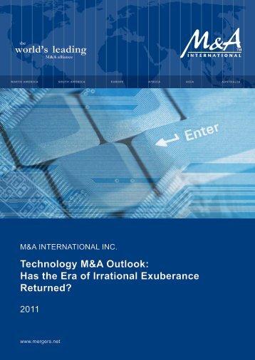 Technology M&A Outlook - Western Reserve Partners LLC