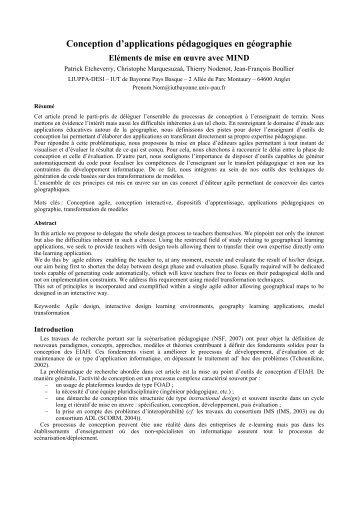TICE2008.pdf - IUT Bayonne