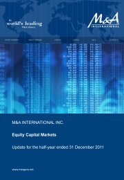 2H 2011 Equity Capital Markets Report