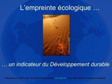 Empreinte écologique - Contacter un comité local d'Attac