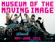 may-june, 2013 - Museum of the Moving Image