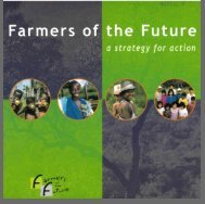 Farmers of the Future a strategy for action
