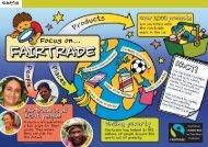 Focus on Fairtrade poster - Cafod