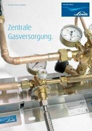 Zentrale Gasversorgung. - Linde Gas Deutschland