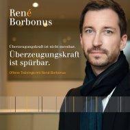 Offene Trainings - René Borbonus
