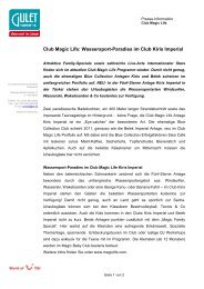 Club Magic Life: Wassersport-Paradies im Club Kiris Imperial