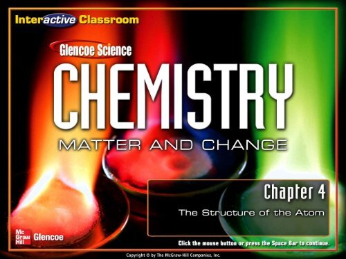 Chapter 4 The Structure Of The Atom Pdf